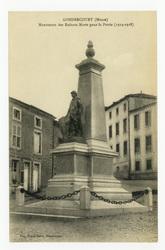 Gondrecourt (Meuse) : monument des Enfants Morts pour la Patrie (1914-1918)