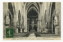 Rembercourt-aux-Pots (Meuse) : intérieur de l'Église (Monument historique,…