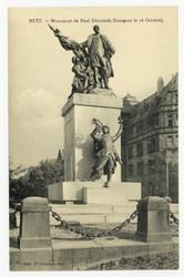 Metz : monument de Paul Déroulède (Inauguré le 16 Octobre)