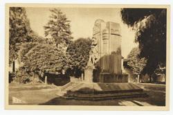 Laneuville-les-Raon : le Monument aux Morts 1914-1918