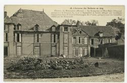 L'invasion des Barbares en 1914. Château de Mondement (Marne). Le Kronprin…