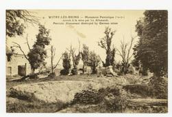 Witry-Lès-Reims : monument Patriotique (70-71) détruit à la mine par les A…
