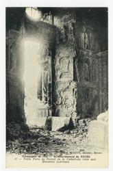 Petite Porte du Portail de la Cathédrale (côté sud). Désastres intérieurs.…