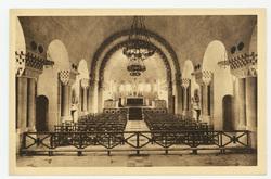 Vue intérieure de la Chapelle Catholique  Inside view of the Catholic Chap…