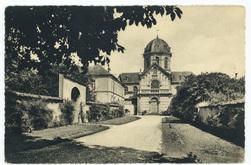 Entrée de l'institution : institution Saint-Joseph, Nancy