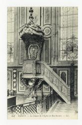 Nancy : la Chaire de l'Église de Bon-Secours