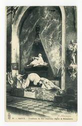 Nancy : tombeau du Roi Stanislas (Église de Bonsecours)