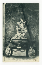 Nancy : tombeau de la Reine Leckzinska (Église de Bonsecours)