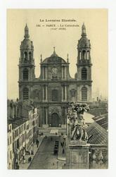 Nancy. La Cathédrale (XVIIIe siècle). La Lorraine Illustrée