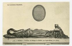 Nancy. Tombeau de Philippe de Gheldre par Ligier-Richier (XVIe siècle). La…