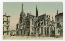 Nancy. Église Saint-Epvre et Place des Dames