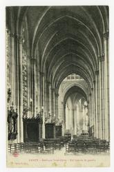 Nancy. Basilique Saint-Epvre, nef latérale de gauche