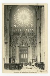 Nancy. Intérieur de la Basilique Saint-Epvre
