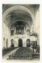 Nancy. L'Église Saint-Nicolas (Intérieur)