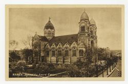 Nancy : église du Sacré-Cœur