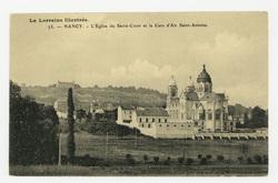 Nancy. L'Église du Sacré Cœur et la Cure d'Air Saint-Antoine. La Lorraine …