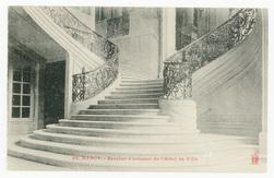 Nancy. Escalier d'honneur de l'Hôtel de Ville