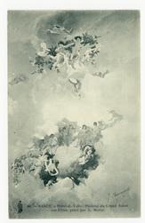 Nancy. Hôtel de Ville, plafond du Grand Salon des Fêtes
