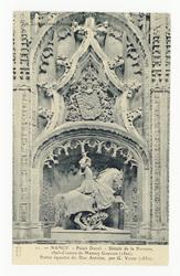 Nancy. Palais Ducal. Détails de la Porterie, chef-d'œuvre de Mansuy GAUVAI…