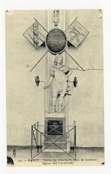 Nancy : statue de Charles V, Duc de Lorraine (Église des Cordeliers)