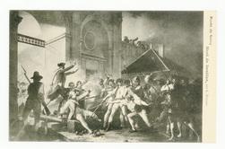 Mort de Désilles : musée de Nancy