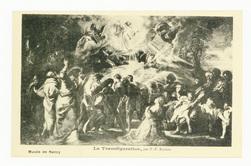 La transfiguration, par P.-P. Rubens : musée de Nancy