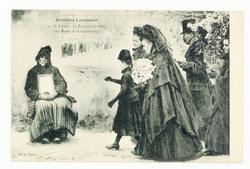 E. Friant : la Toussaint (1888), (Au Musée du Luxembourg), artistes Lorrai…