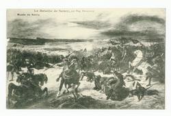 La bataille de Nancy, par Eug. Delacroix : musée de Nancy