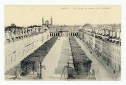 Nancy : la Place de la Carrière et la Cathédrale