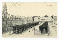 Nancy : place de la Carrière. Palais du gouvernement