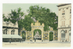 Nancy : fontaine d'Amphitrite