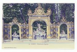 Nancy : fontaine de Neptune
