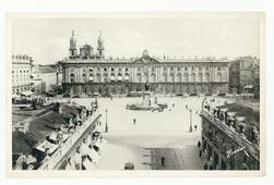 Nancy : la Place Stanislas vue de l'Arc de Triomphe, Nancy la Coquette
