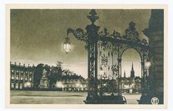Nancy : place Stanislas, grilles Jean Lamour