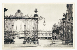 Nancy : la Place Stanislas, les grilles de la place Stanislas, Nancy la Co…