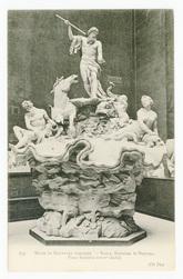 Nancy, fontaine de Neptune, place Stanislas (XVIIIe siècle). Musée de scul…
