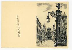 Nancy : grille Jean Lamour et cathédrale