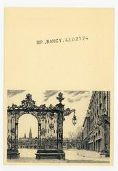 Nancy : grille Jean Lamour