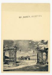 Nancy : grille Jean Lamour et Place Stanislas