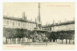 Nancy : fontaine et Place d'Alliance