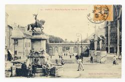 Nancy : place Saint-Epvre, statue de René II