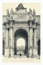 Nancy : Arc de Triomphe (Côté rue Héré)