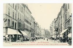 Nancy : rue des Dominicains en souvenir du Monastère des Dominicains établ…