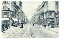 Nancy : la rue Saint-Dizier