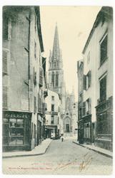 Nancy : la rue Saint-Epvre