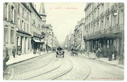 Nancy : la rue St-Jean