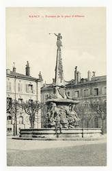 Nancy : fontaine de la place d'Alliance