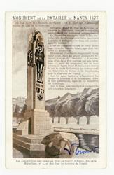 Monument de la Bataille de Nancy 1477