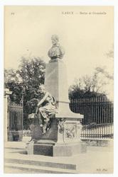 Nancy : statue de Grandville