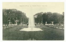 Exposition de Nancy, 54 : le Jardin Français. Le Jet d'eau